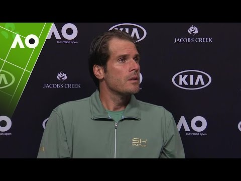Tommy Haas press conference (1R) | Australian Open 2017