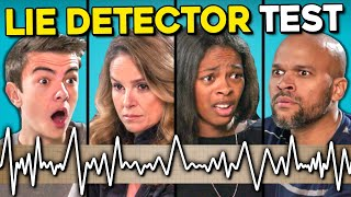 Baixar Teens Give Their Parents A Lie Detector Test