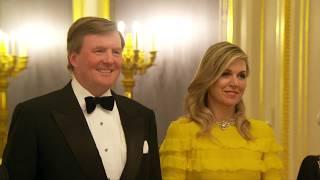 Terugblik: diner en speeches voor officieel bezoek Jordanië