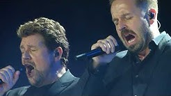 Alfie Boe & Michael Ball 'A Thousand Years' 'Love Changes Everything' 02 Arena London 14.12.17 HD
