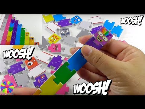 NUMBERBLOCKS |PUZZLE | CBEEBIES | BBC | Kidsfun tv