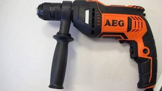 Обзор дрель безударная (NEW ROTARY DRILL) AEG BE 750 RE