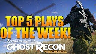 TOP 5 PLAYS OF THE WEEK #3 | Ghost War Top 5 Plays | Ghost Recon Wildlands PVP Top 5