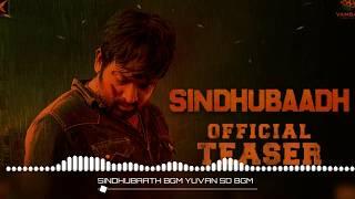 Sindhubaath Mass Bgm😎   Yuvan 😍   Vijay Sethupathi