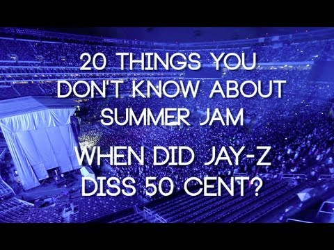 When did Jay-Z diss 50 Cent at Summer Jam?