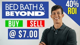 Bed baths & beyond the company's revenue fell 49% from a year ago to $1.3 billion. bbby plans close nearly 200 stores cut cost. is stock buy?1.✅...