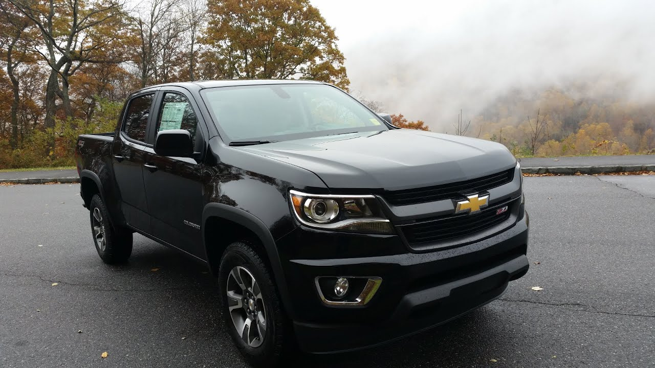 2015 Chevy Colorado Inside Look At The Inside   YouTube
