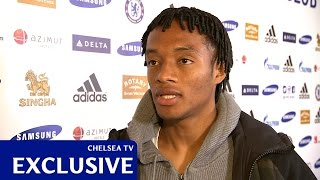 Chelsea: Exclusive first interview: Juan Cuadrado