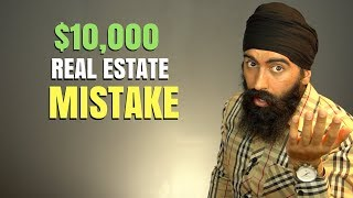 My $10,000 Real Estate Investing Mistake | Real Estate Investing 101