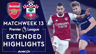 The gunners were lucky to salvage a draw against southampton, as they came from behind and hung on for point after gabriel was sent off. #nbcsports #premie...