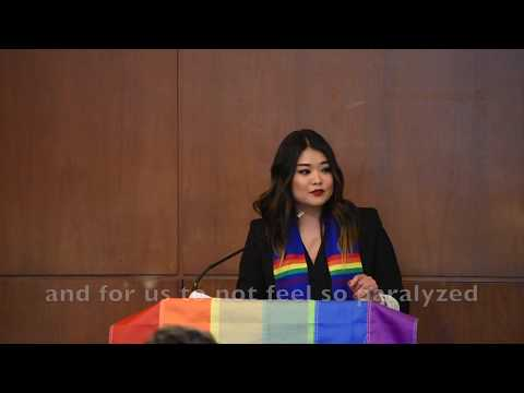2017 UC Berkeley Lavender Graduation Speech by Michelle Kim ...