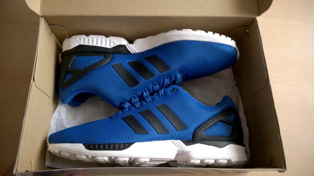 b318c17e45f83 Unboxing butów  shoes Adidas ZX Flux M21328 - YouTube