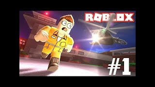 JailBreak-How to escape from jail LOL! ROBLOX Indonesia Kocak