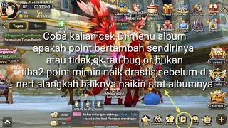 #Dragonnest Mobile Official| Bug Or Not? Point Album Naik SAMPAI 20.000,cepat up keburu di nerf