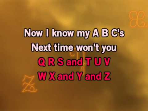 Nursery Rhyme - Alphabet Song Karaoke Version