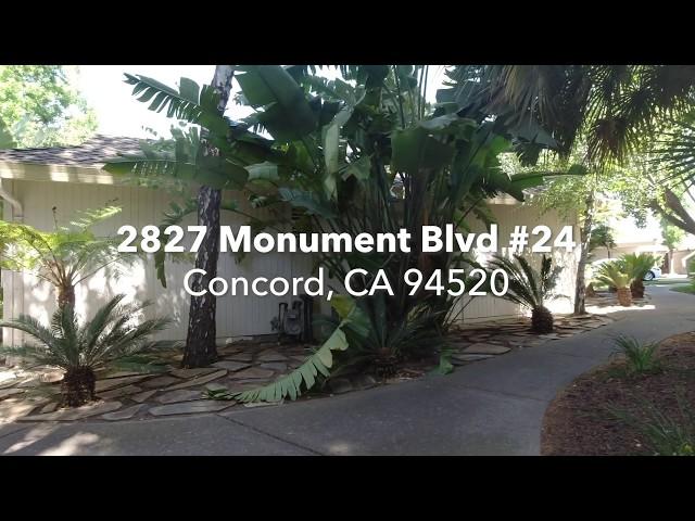 2827 Monument Blvd #24 Concord CA 94520