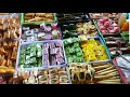 Puluhan Jenis Jajanan Pasar Tradisional ada di Pasar Kranggan, Jogjakarta