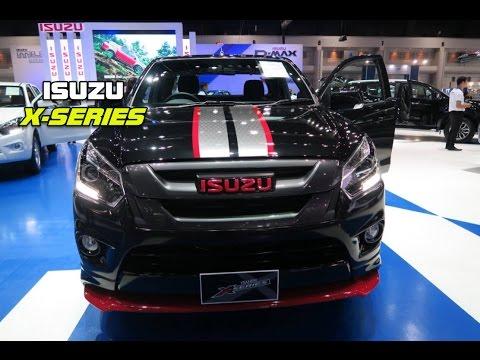 รถกระบะ ISUZU X-SERIES ภาพจริงพร้อมราคา Motor Expo 2016 1-12 December