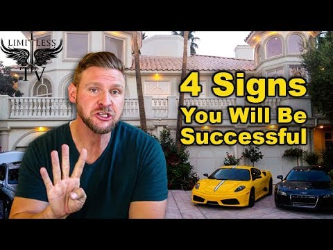 4 Signs That You'll Find Success In Life - Habits of Successful People