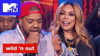 Cipha Sounds Backs Up Wendy Williams 'Official Sneak Peek' | Wild 'N Out | MTV