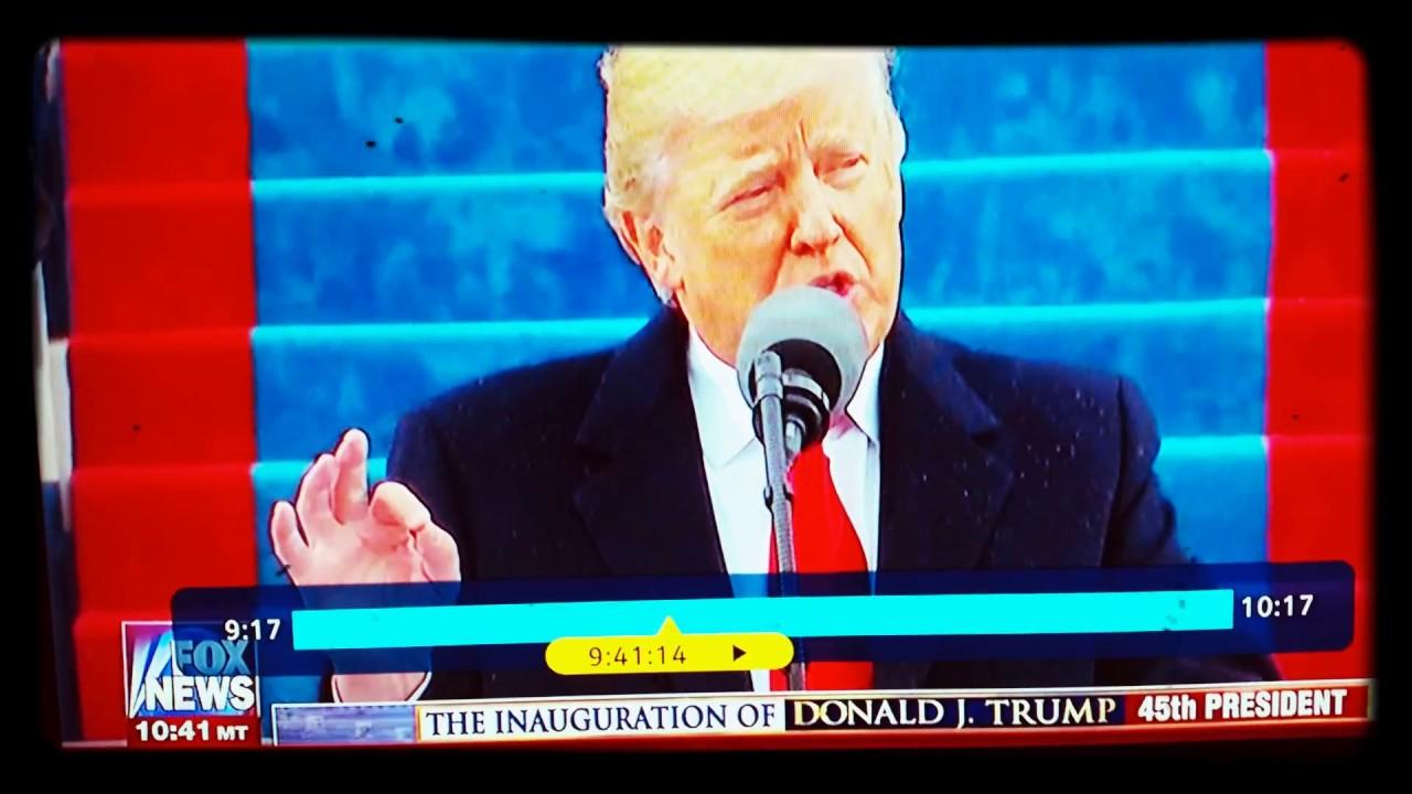 trump inauguration speech transcript pdf