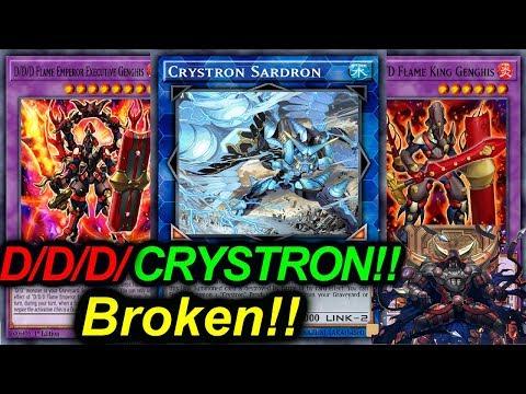 NEW D/D/D CRYSTRON!! UNBREAKABLE BOARDS!!(*#BROKEN*)