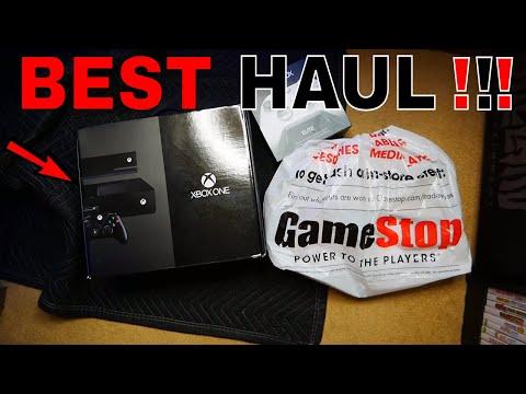 BEST!!! Gamestop Dumpster Dive Night #925