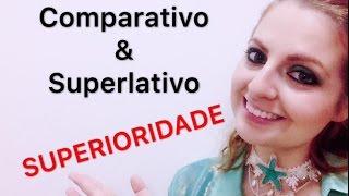 Comparativo e superlativo de superioridade em inglês (INGLÊS PARA BRASILEIROS)