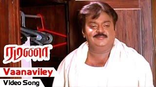 Video Vaanaviley Video Song | Ramanaa Tamil Movie | Vijayakanth | Simran | AR Murugadoss | Ilayaraja download MP3, 3GP, MP4, WEBM, AVI, FLV Oktober 2018