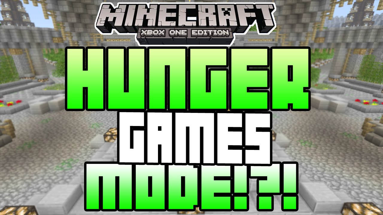 Minecraft Xbox One Xbox 360 Hunger Games Mode