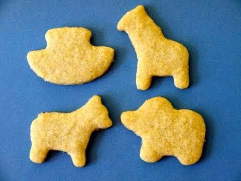 Healthy Snack Food Recipes: How to Make Animal Crackers for Kids - Weelicious