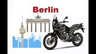 Motorcycle Trip Berlin, Yamaha Tenere in Berlin