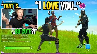 This COUPLE met in a Fortnite game and have been DATING for over 1 YEAR... (super cute)