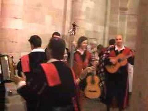 tuna de Santiago de Compostela - La Viajerita