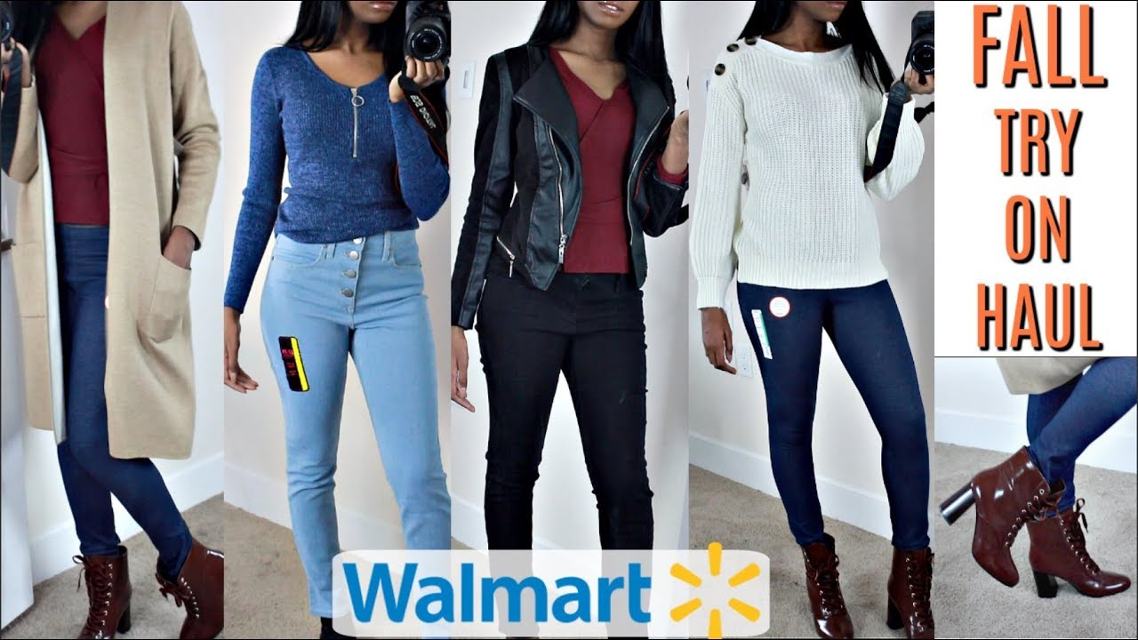 HUGE WALMART TRY ON CLOTHING HAUL | FALL + WINTER EDITION OUTFITS IDEAS 2019 5