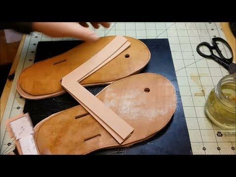 Let's Make Leather Flip Flops! - Part 1