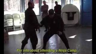 Ninjutsu Technique - The True Power of the Kamae in Ninpo-Taijutsu in Winning a Fight!