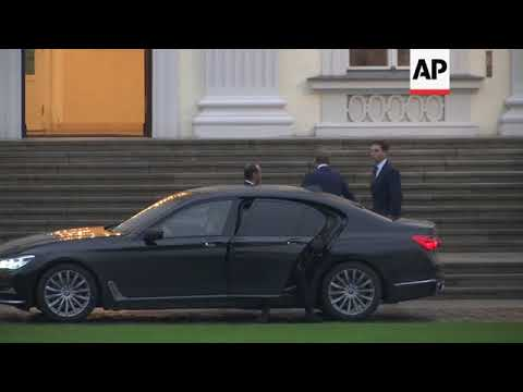 German Free Democratic Party leader arrives to meet Steinmeier