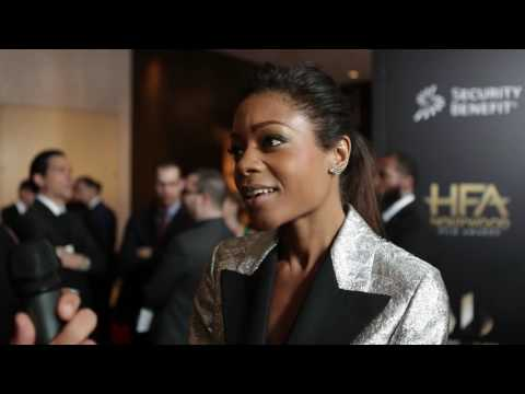 Naomie Harris Red Carpet Interview - Hollywood Film Awards 2016