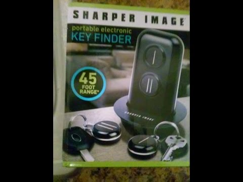 My Cell Phone Finder And Key Finder By Sharper Image Youtube