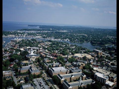 Исторический Аннаполис штат Мэриленд США