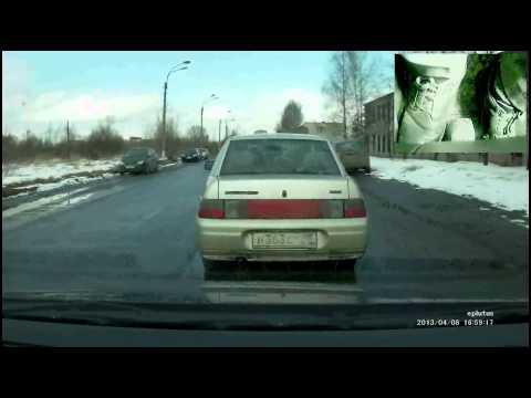 Пилотирование VW Polo Седан(+работа ногами)ч.1