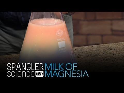 Milk of Magnesia - Cool Science Experiment
