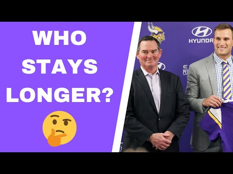 Will Mike Zimmer outlast Kirk Cousins?