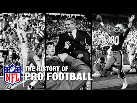 The History of Professional Football in America | NFL Now