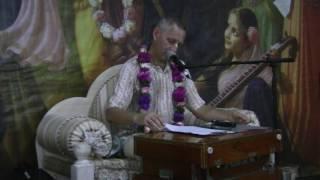Этапы творения и неизбежность реформации (Е.М. Враджендра Кумар Прабху) - 14.09.2016
