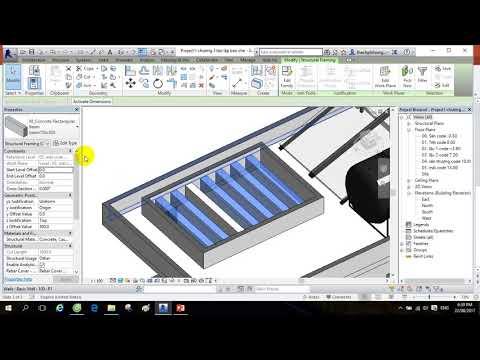 REVIT VIETCONS   CHƯƠNG 4: Tạo và gán vật liệu vào mô hình