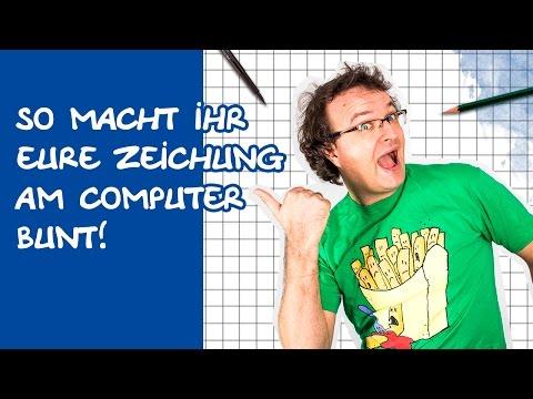 Comics zeichnen mit Tobi Wagner – KOLORIEREN AM COMPUTER
