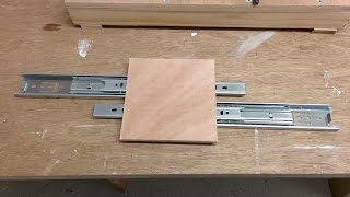 Drawer Slide Cnc Build - 2