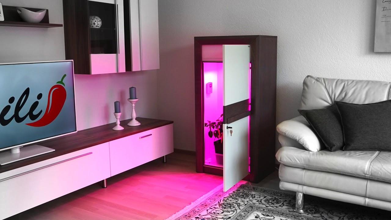 led growbox set by urban chili youtube. Black Bedroom Furniture Sets. Home Design Ideas